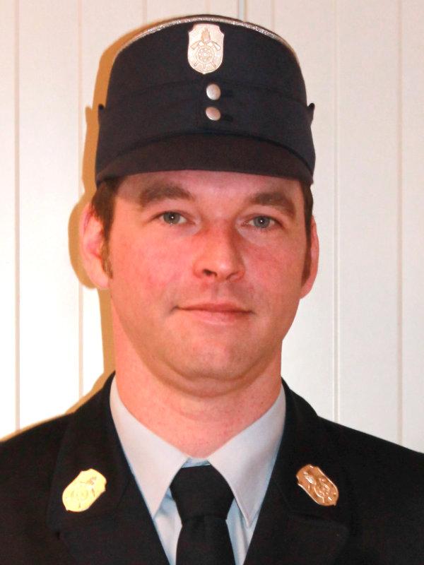 Zweiter Kommandant Daniel Heider